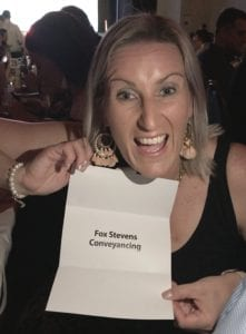 Local Business Awards Winners - Fox Stevens Conveyancing